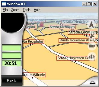 Cabin view din MioMap 3.2 pe LG LN-550