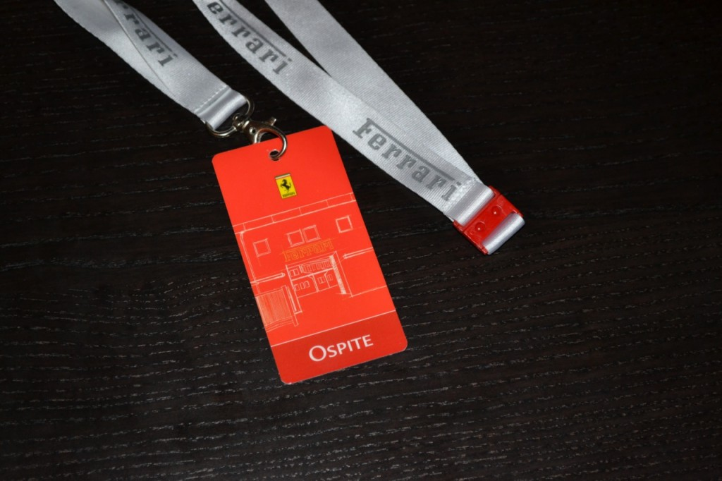 Ferrari guest badge