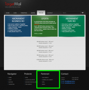 target-mail.ro spammeri